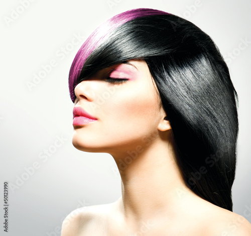 Poster - Fashion Hair. Hairstyle