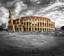 The Majestic Coliseum, Rome, I...