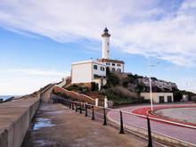 Lighthouse In Ibiza Town, Balearic Islands, Spain
