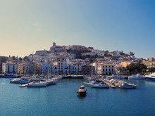 Harbor In Ibiza Town, Balearic...