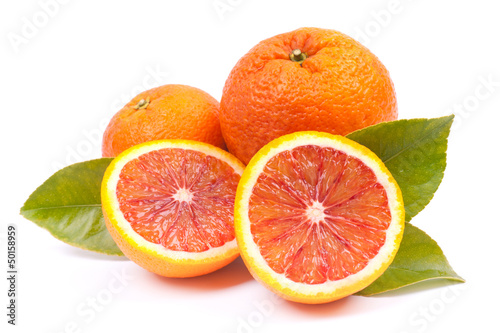 Poster Fruits Blutorangen