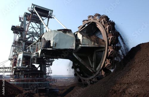 coal1 Fototapeta