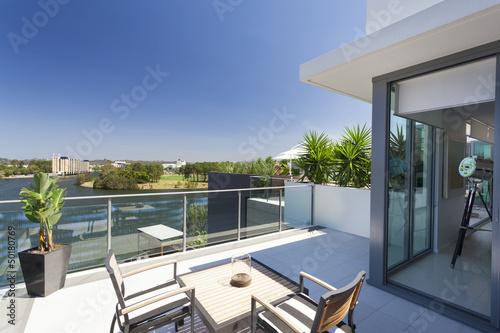 Small balcony Fototapete