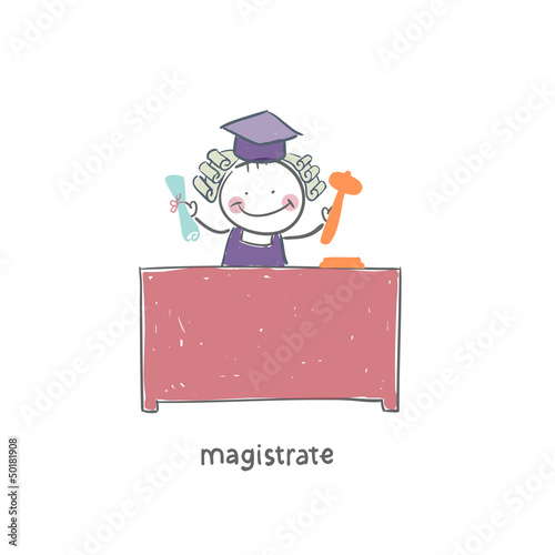 Foto  Magistrate