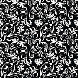 Seamless fancy floral background-pattern