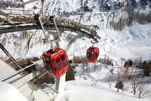 Chamonix - Téléphérique De La Mer De Glace