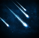 Four comets