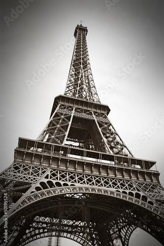 Foto op Aluminium Eiffeltoren The Eiffel Tower, Paris, France