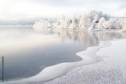 Winter am Fjord