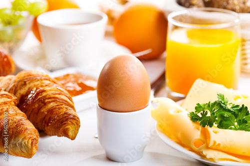 Fotografie, Obraz breakfast with  boiled egg