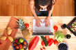 Online in der Küche