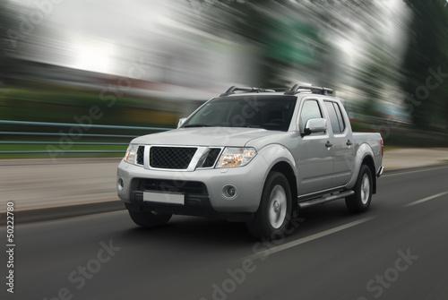 Obraz Speedy pick-up - fototapety do salonu