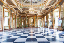 Hall Of Ambassadors In Queluz ...