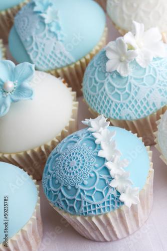 Fototapeta Wedding cupcakes