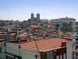Rooftops and cathedral Porto Portugal
