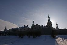 Pałac Biskupi W Kielcach Zimą