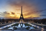 Fototapeta Fototapety z wieżą Eiffla - Tour Eiffel