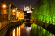 canvas print picture - Historical Ghent