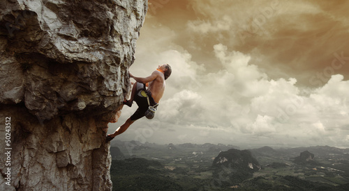 Cuadros en Lienzo Climber