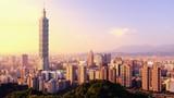 Taipei, Taiwan Skyline Panorama