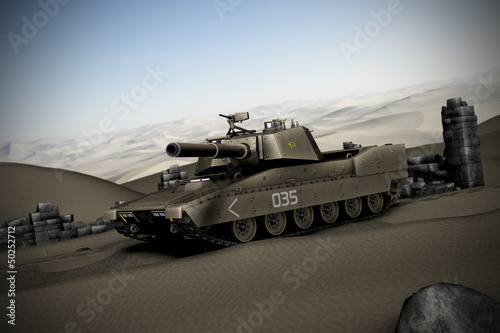 Poster Militaire Panzer