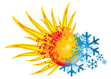 Logo Hot And Cold