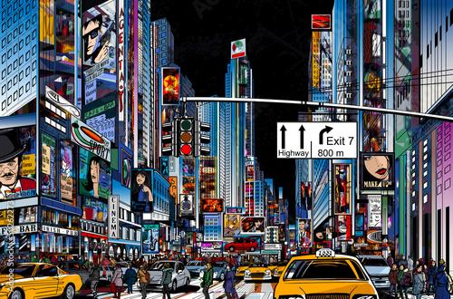 street in New York city - 50262273