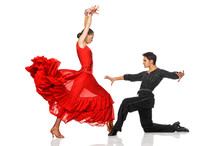 Elegance Latino Dancers In Action