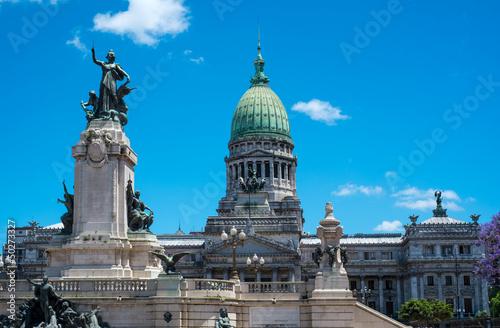 Keuken foto achterwand Buenos Aires Buenos Aires Congress Monument