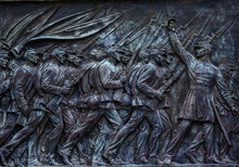 Union Soldiers US Grant Memorial Capitol Hill Washington DC