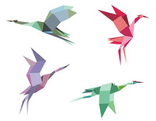Cranes And Herons