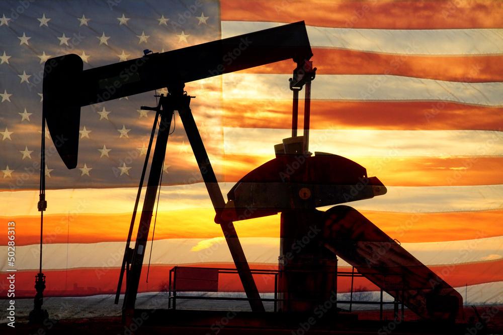 Fototapety, obrazy: American Oil