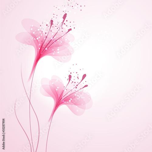 wektorowe-rozowe-tlo-z-rozowymi-kwiatami