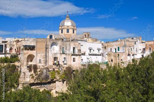 Panoramic view of Massafra. Puglia. Italy. Fototapet