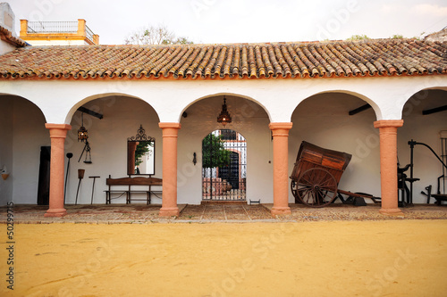 Fotomural Cortijo andaluz, hacienda de labor