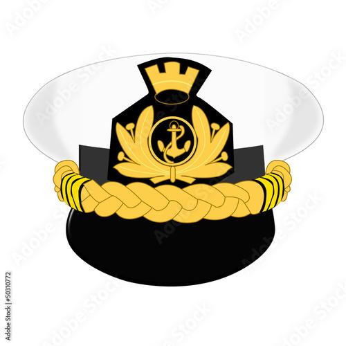 Photo  Berretto da Ammiraglio Marina Militare