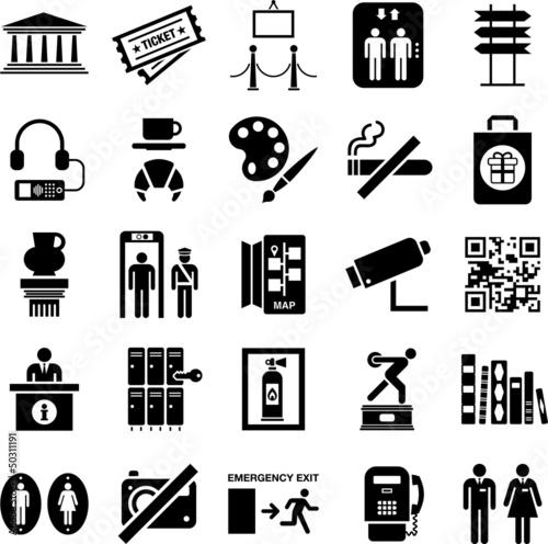 Fotografía  Museum icons
