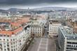 La ville de Budapest depuis la Basilique Saint-Etienne