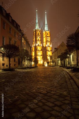 Naklejka premium Wrocław