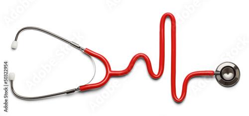 Cuadros en Lienzo  Stethoscope Pulse