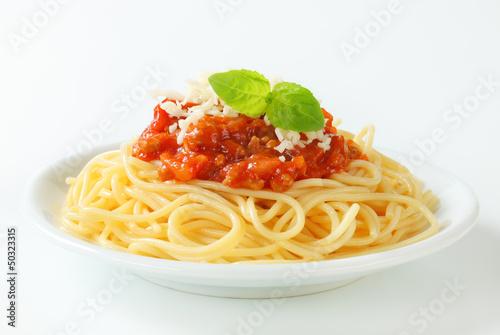 Spaghetti Bolognese Slika na platnu