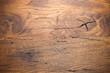 Leinwandbild Motiv Old Oak Planks