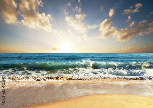 Fototapety, obrazy: Sea sunset
