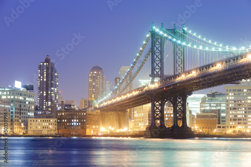 Photo  manhattan bridge