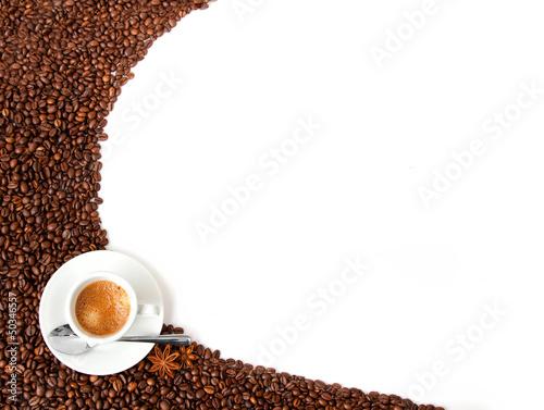 Deurstickers koffiebar sfondo caffè