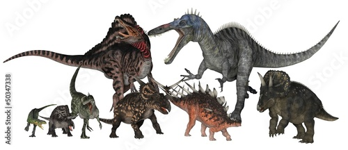 Photo  dinosaure