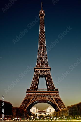 Foto op Aluminium Eiffeltoren Eiffelturm