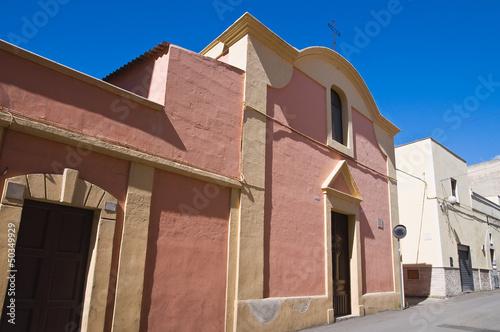 Church of St. Antonio Abate. Massafra. Puglia. Italy. Fototapet