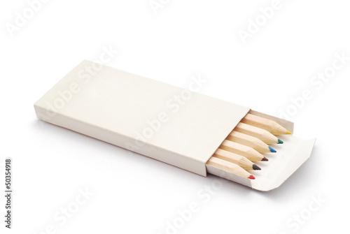 Fotografia colored crayons