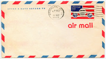 Old Airmail Envelop